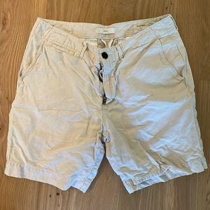 Billy Reid khaki shorts
